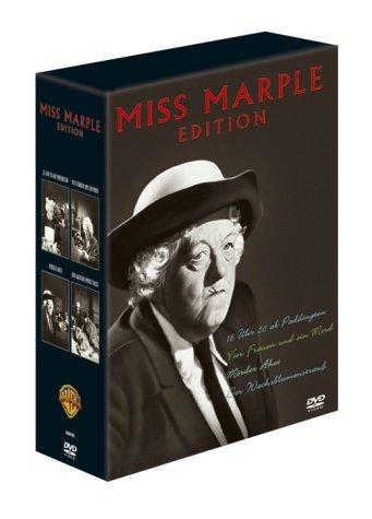 Miss Marple Box (4 DVDs) (Miss Marple Margaret Rutherford Dvd)