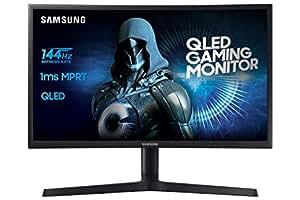 Samsung LC27HG70QQUXEN Monitor per PC Desktop Curvo VA da 68,4 cm (26,9 pollici) (HDMI, USB, tempo di risposta 1 ms) nero