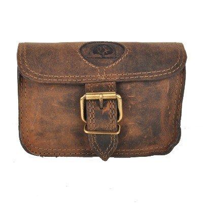 Greenburry Vintage riñonera piel 14,5 cm marrón