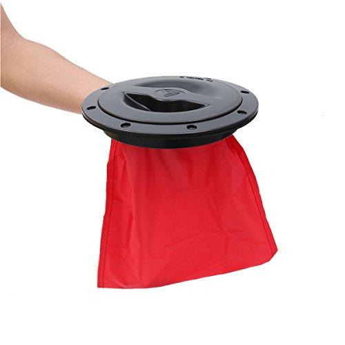 Descripción El kit Kayak Storage Bag se puede agregar a casi cualquier kayak con cubierta o sentado encima para proporcionar un amplio espacio de almacenamiento para mantener sus pertenencias personales a salvo. Esta bolsa para gatos no es a prueba d...
