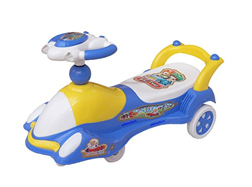 eHomeKart Rocket Twist and Swing Magic Car Ride On for Kids with Music and Lights for Boys and Girls ( 1 Year to 4 Years)