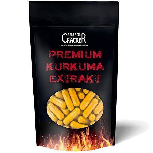 300 Kapseln Premium Curcuma - Kurkuma Extrakt Kapseln Hochdosiert 600mg, mit Biologischem Schwarzem Pfeffer, Für Vegetarier & Veganer geeignet