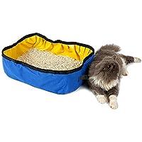 Caja de Arena para Gatos, Legendog Kitty Caja de Arena para Perros Pet Foldable Outdoor Impermeable para Mascotas