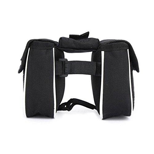 Fahrrad Frontrahmen Tube Lenker Doppel Paar Tasche Phone Bag -