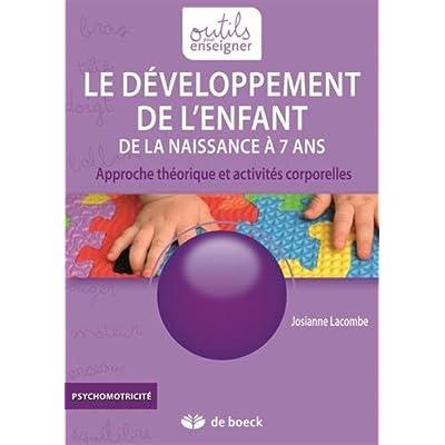 Le développement de l'enfant de la naissance à 7 ans : Approche théorique et activités corporelles