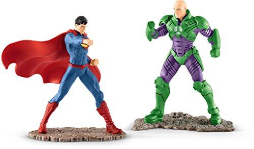 DC Comics Schleich Set 2 Figuras, Superman vs Lex Luthor