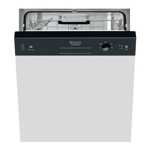 Hotpoint-Ariston LSB 5B019 CB EU Semi built-in 13places A+ Black dishwasher - dishwashers (Semi built-in, A, A+, Black, Buttons, A)