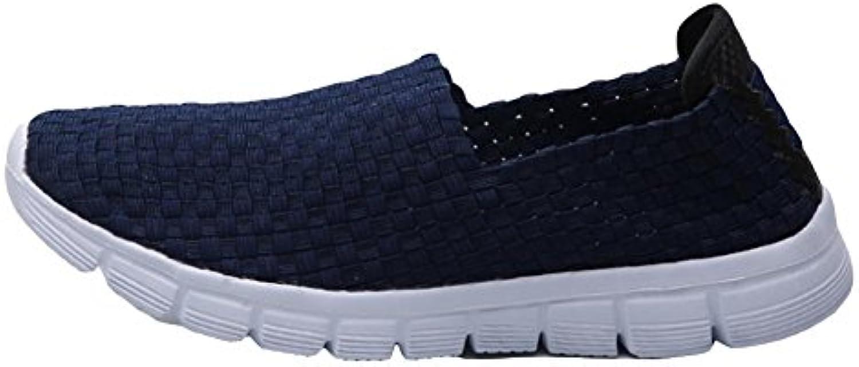 Sandalen Herrenschuhe  Gewebte Schuhe  Clogs Maultiere  Blue  43Sandalen Herrenschuhe Gewebte Schuhe Maultiere
