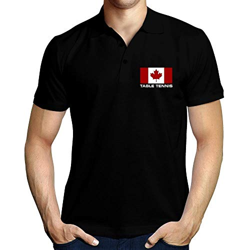 Idakoos Flag Canada Table Tennis Polo-Hemd M