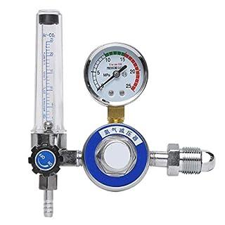 REFURBISHHOUSE Argon Co2 Mig Tig Flow Meter Welding Weld Regulator Gauge Welder Fits G5/8