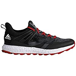 Adidas Crossknit Boost Golf Shoes, Men, Men, Crossknit Boost, Black Red, Uk 12