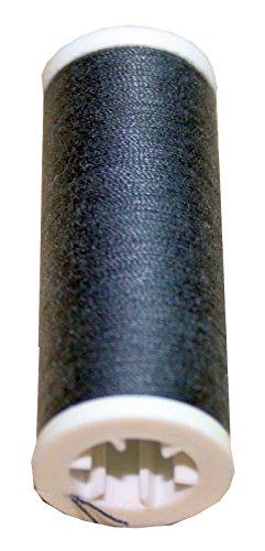 Machines à coudre bobines de fil 200 m 2 rouleaux de polyester 100 m 40/2 gris 1010 (anthracite)