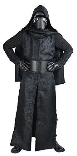 Stiefel Kostüm Jedi (Star Wars Das Erwachen Der Macht Kylo Ren Replik Kostüm eingeschlossen Gürtel - replik Star Wars Kostüm - Herren)