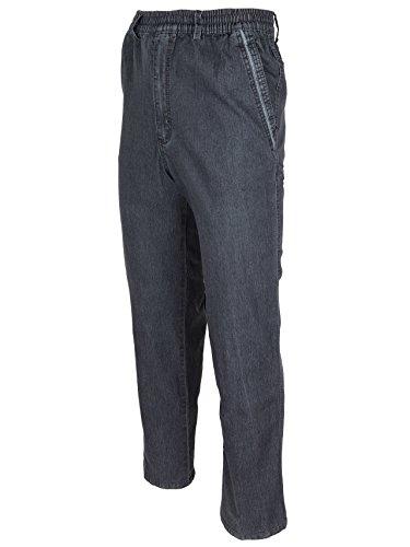 Herren Jeans, Cargojeans, Schlupfhose Schlupfjeans, Stretchjeans von  SOUNON® - Schwarz (M2 54c461d5ac