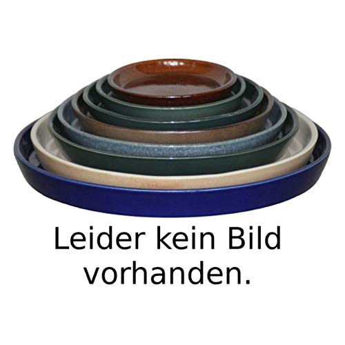 K & K sous coque/soucoupe ronde pour pot de fleurs venus II avec et sans anse Blanc 50 x 40 cm - Ø 40 cm de mat en grès (Céramique Haute Qualité)