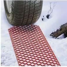 grabber tapis de neige Escaper de traction du véhicule idéal pour les pistes de boue le sable de neige