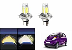 Speedwav Car H4 Headlight LED Bulbs Set Of 2-Tata Nano