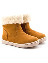 Boni Classic Shoes - Merceditas de Piel Vuelta para niña