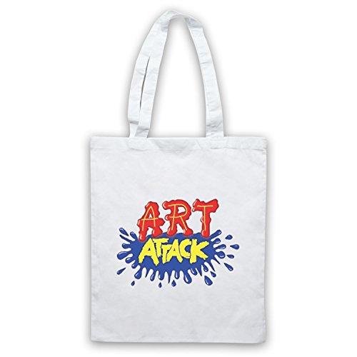 Ispirato Da Art Attack Logo Non Ufficiale Del Capo Borse Bianche