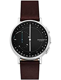 Skagen SKT1111 Men's watch Signatur Leather Strap Hybrid - Brown/Black