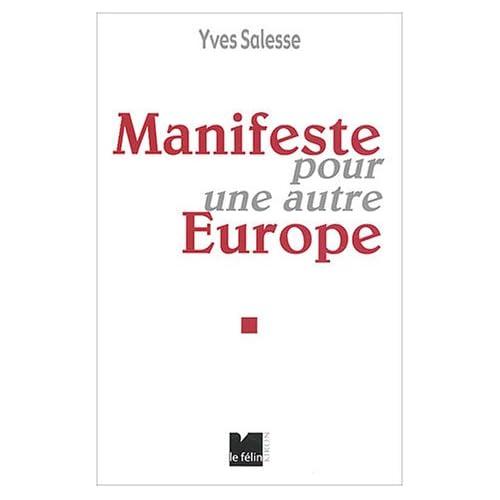 Manifeste pour une autre Europe