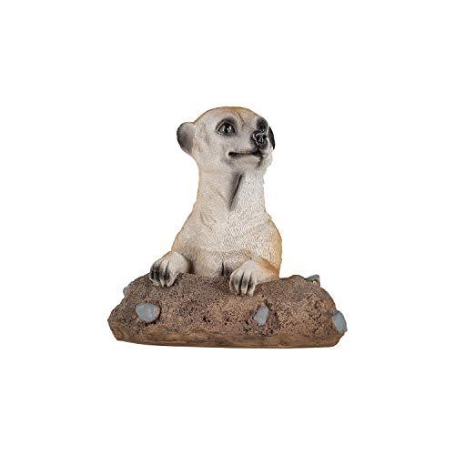 1PLUS Jardín Figura de suricato el diseño, Figura de resina/poliresina, para el jardín/exterior de rango