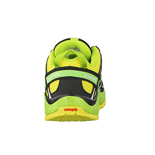 Salomon XA Pro 3D K Corona Yellow Granny Green Black Yellow