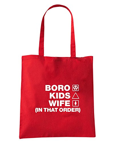 T-Shirtshock - Borsa Shopping WC1236 middlesbrough-kids-wife-order-tshirt design Rosso
