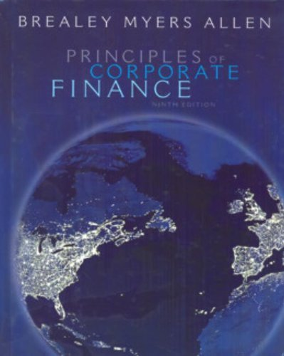 Principles of Corporate Finance with S&P bind-in card by Richard A. Brealey (2007-10-09)