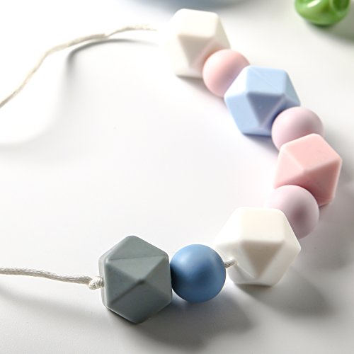 teething-necklace-by-smilehome-silicone-teether-for-babies-worn-by-mom-bpa-free-colorful-nursing-nec