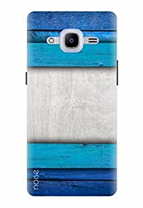 Noise Designer Printed Case / Cover for Samsung Galaxy J2 Pro - 6 (New 2016 Edition) / Patterns & Ethnic / Blue Ombre Design