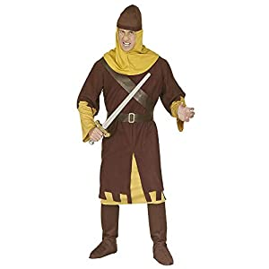 WIDMANN Widman - Disfraz de soldado medieval para hombre, talla XL (3256S)
