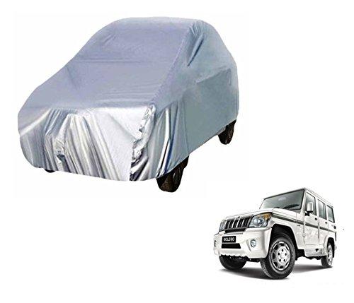 Auto Hub Premium Car Body Cover For Mahindra Bolero - Silver Matty  available at amazon for Rs.999