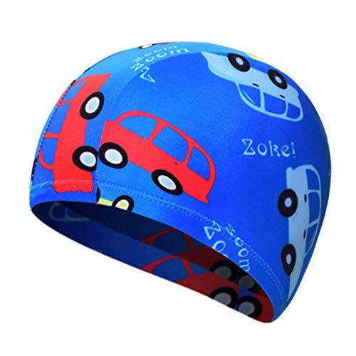 Alien Storehouse Fun Badekappe für Kids & Kleinkinder -Kids Swim Cap Durable - Swimwear Hair & Ear Protector,Z