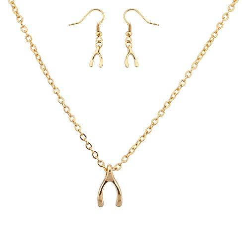 lux-zubehr-wishbone-lucky-charm-anhnger-halskette-passende-ohrringe