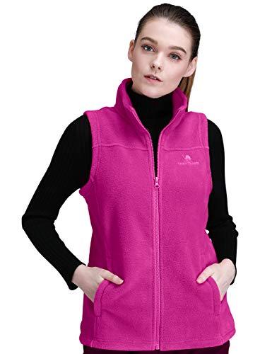 CAMAL Crown Fleece Weste Damen Vest Outdoor Fast Trek Gilet Unisex