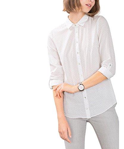 ESPRIT 106EE1F023, Camicia Donna, Bianco (Off White), 44