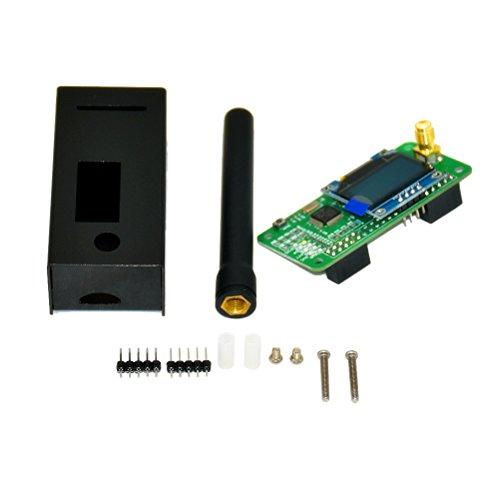 OUNONA antenna + custodia + OLED + supporto Mmdvm hotspot P25 DMR Ysf per  Raspberry Pi Black Mmdvm hotspot antenna di sostegno P25 DMR Ysf Raspberry