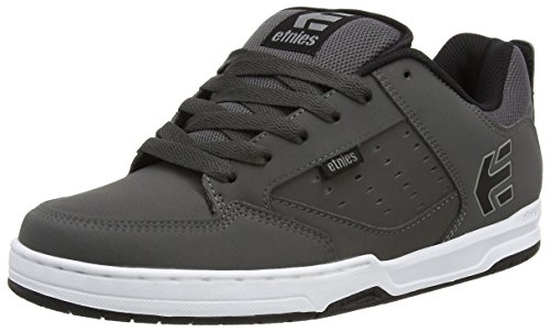 EtniesKartel - Scarpe da Skateboard uomo, Colore Grigio (Dark Grey/Black/White), Taglia 45 (10 UK)