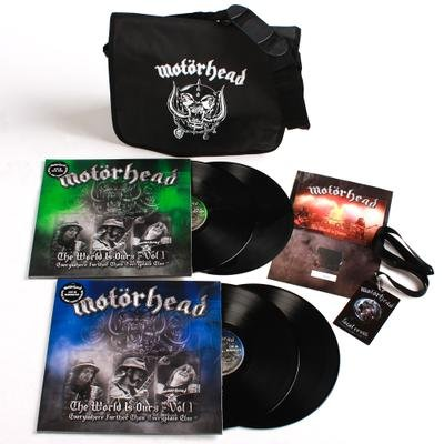 MOTÖRHEAD, The wörld is ours Vol. 1 + MESSENGER BA - 4LP