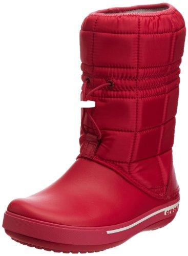 Crocs Winter Stiefel (Crocs Crocband II.5 12933 Damen Schneestiefel, pink (raspberry/white 604), 39/40 EU)