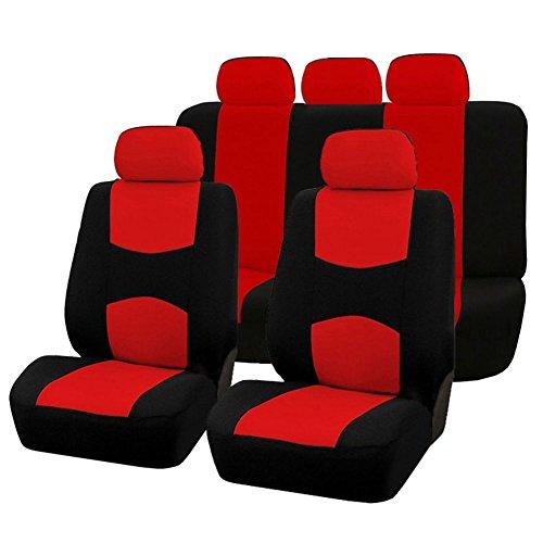 SODIAL 9pzs Cubiertas asiento automoviles Cubierta
