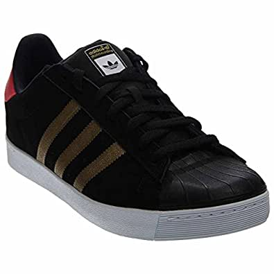 Adidas Superstar Vulc Adv (Kern Schwarz Metallic Gold