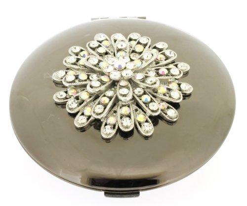 jodie-rose-plated-crystal-starburst-compact-mirror-black