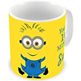 Illuminati Gifts You Are 1 In A Minion Sister Beautiful Design Printed Multicolor Ceramic Coffee Mug - 325 Ml Rakhi Raksha Bandhan Gift For Sister, Rakshabandhan Return Gift For Sister