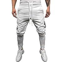 Geili Hose Herren Lang Striped Knöpfe Sporthose Fitness Trainingshose Sweatpants Männer Herbst Slim Fit Skinny... preisvergleich bei billige-tabletten.eu