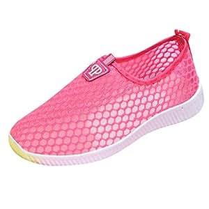 Wasserschuhe Männer Frauen Leichte Damen Aqua Aerobic Schuhe Mesh Atmungsaktive weiche Schuhe zum Schwimmen Laufen Surfen Fahren Tauchen Kajakfahren