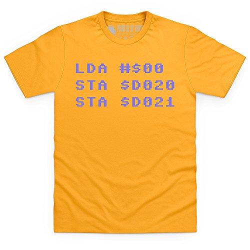 Assembler T-Shirt, Herren Gelb