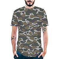 Ropa Hombre Y Mujer Verano Casual CráNeo ImpresióN Camiseta para Hombre tee Cuello Redondo Tops Camisas Blusa Deportiva Unsexy Beladla