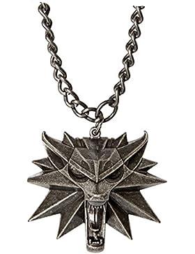 The Witcher 3: Wild Hunt Wolf head Halskette Medaillon aus Collectors Edition von Namco Bandai/Warner Bros